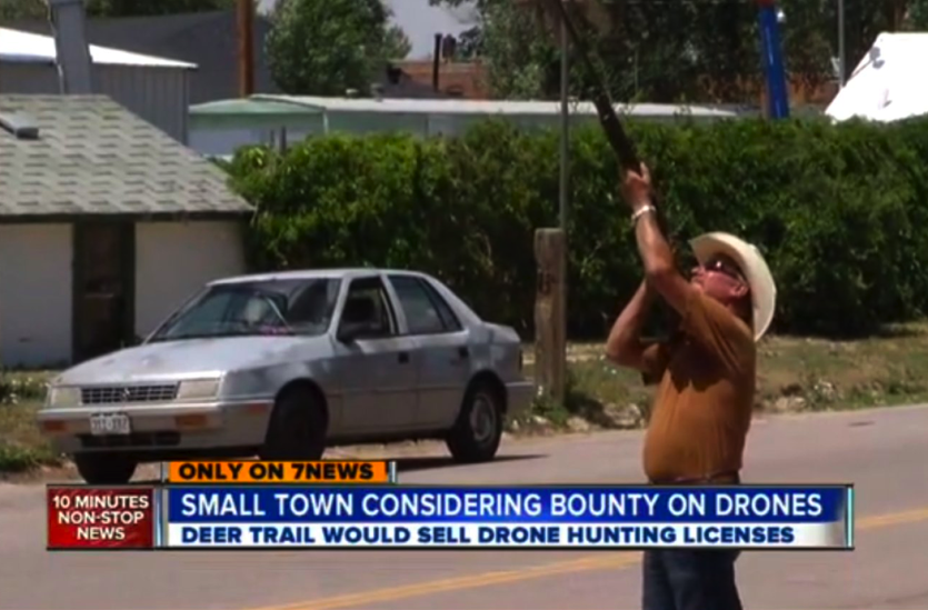 Colorado town considers issuing drone hunting licenses for Colorado one day fishing license